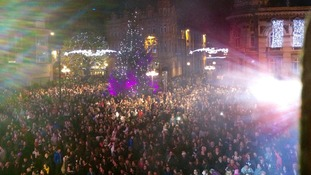 Hull's Christmas lights