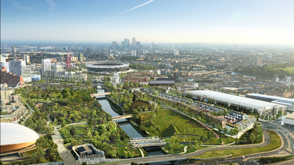 New olympic park homes plan revealed london itv news for Olympic homes