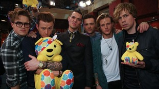 McBusted during BBC Children in Need 201