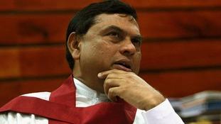 Sri Lanka's Minister of Economic Development Basil Rajapaksa, has rejected David Cameron's calls for an international war crimes probe.