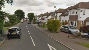 A body has been found in a well on Audley Drive, in Surrey, pictured.