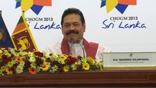 President Mahinda Rajapaksa told a press conference that Sri Lanka has 'nothing to hide'