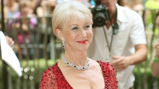 Helen Mirren at the premiere of Red 2.
