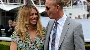 Billie Piper with her husband Lawrence Fox.