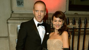 Damien Lewis will be hosting the event. Here he is pictured with his wife Helen McCrory.