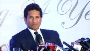 International cricket legend Sachin Tendulkar told reporters 'It's been a dream journey.'
