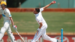 Lancashire's James Anderson looks ahead to the First Ashes Test in Brisbane