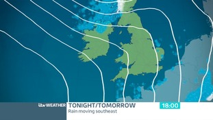 TUESDAY EVENING: Dry and cold
