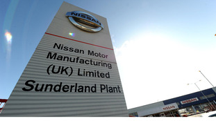 A general view of the Nissan Factory in Sunderland