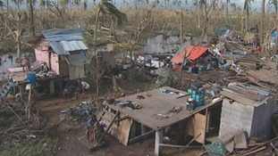 Cangumbang village is located 11 miles south of typhoon-devastated city of Tacloban.