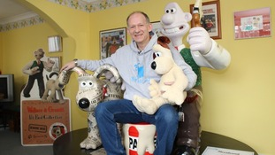 Meet Wallace & Gromit's biggest fan