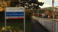 The Princess Alexandra Hospital in Harlow.