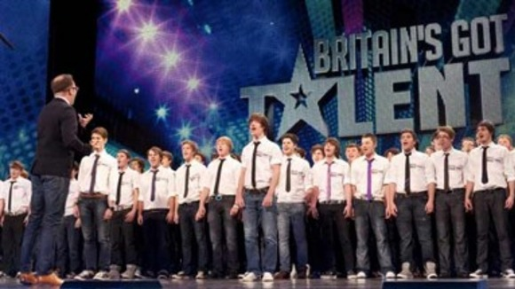 Only Boys Aloud performing