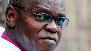 "Archbishop Sentamu calls poverty a ""dark stain on our consciences"""