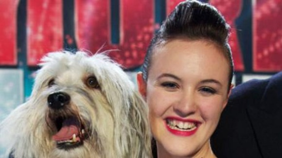 The teenager and her pet will entertain the Queen later this year.