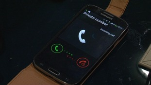 There are warnings today about a new type of telephone scam which is here in the East.