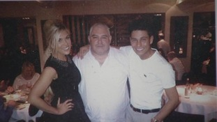 Frankie Essex (sister), Donald Essex (Dad) and Joey Essex.