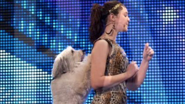 Ashleigh Butler and Pudsey on Britain's Got Talent