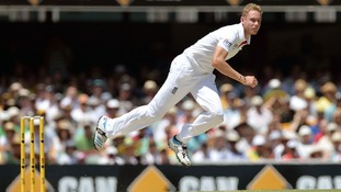 England bowler Stuart Broad took five wickets in an innings for the 11th time in his Test career.