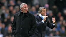 ir Alex Ferguson and Roberto Mancini are preparing to battle it out for the Premiership title
