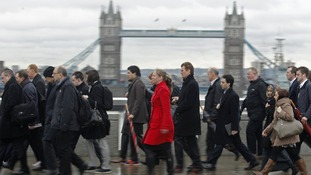Britain's vast public debt climbing at a slightly slower rate