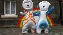 The London 2012 mascot.