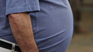 Health Secretary Andrew Lansley says 'being overweight can lead to serious illnesses'