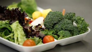 A salad box; the healthier option