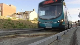 Luton Council's refuting claims that it's too easy for drivers to accidentally end up on the town's busway.