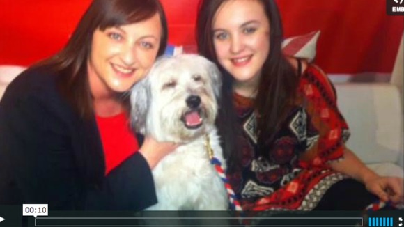 Pudsey and Ashleigh and Mel