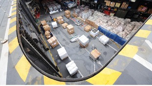 HMS Illustrious, aka 'Lusty' has been packed with rice and is heading for the typhoon-ravaged Philippines.