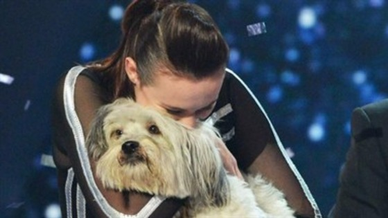 Britain's Got Talent winner Ashleigh Butler and dog Pudsey