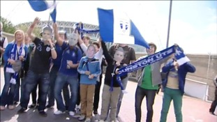 Dunston supporters