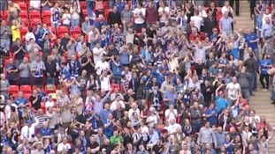 Fans at Wembley