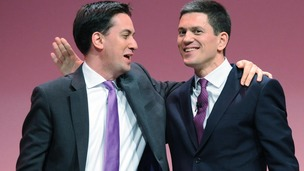 Ed Miliband has acknowledged that his relationship with brother David has still not fully recovered.