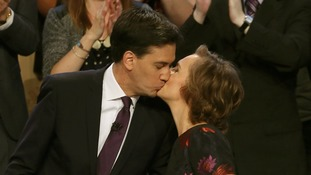 Ed Miliband said:Wife Justine is 'an amazing person and I feel incredibly blessed and lucky to be married to her.'