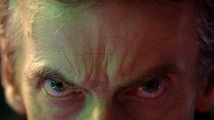 Peter Capaldi makes his first - all be it brief - appearance as The Doctor in the 50th anniversary episode.