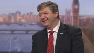 Scotland Secretary Alistair Carmichael  on The Andrew Marr Show.
