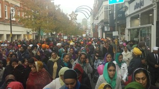 How Nagar Kirtan happened in Leicester