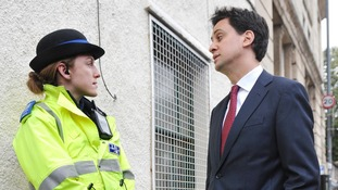 The threat to neighbourhood policing highlighted in a report by Lord Stevens is of 'profound concern', Ed Miliband will say.