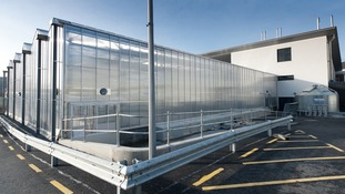 The National Plant Phenomics Centre from outside