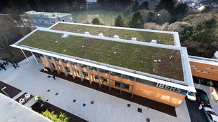 The National Plant Phenomics Centre from above
