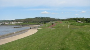 coastal path in Llanelli