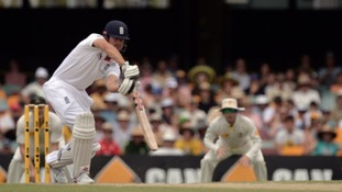 Not even Alastair Cook's battling 65 could prevent England from suffering a heavy defeat.