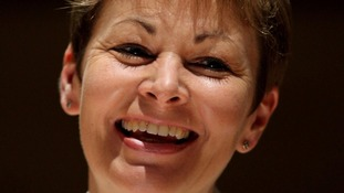 Caroline Lucas MP who is standing down as leader of the Green Party.