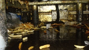 Filthy takeaway closed by health inspectors