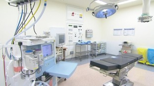 Work's started on a £500,000 training unit at a hospital in Bury St Edmunds.