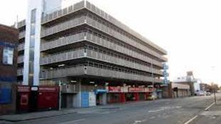 Osborne Street multi-storey car park , Hull.