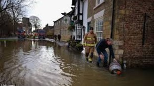 Flooding in Malton last year