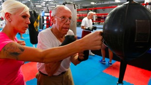Boxing pensioner
